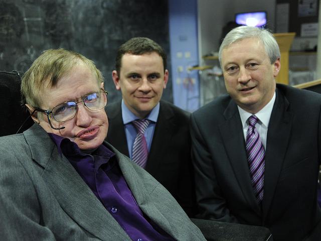 Űrutazó lesz Stephen Hawking