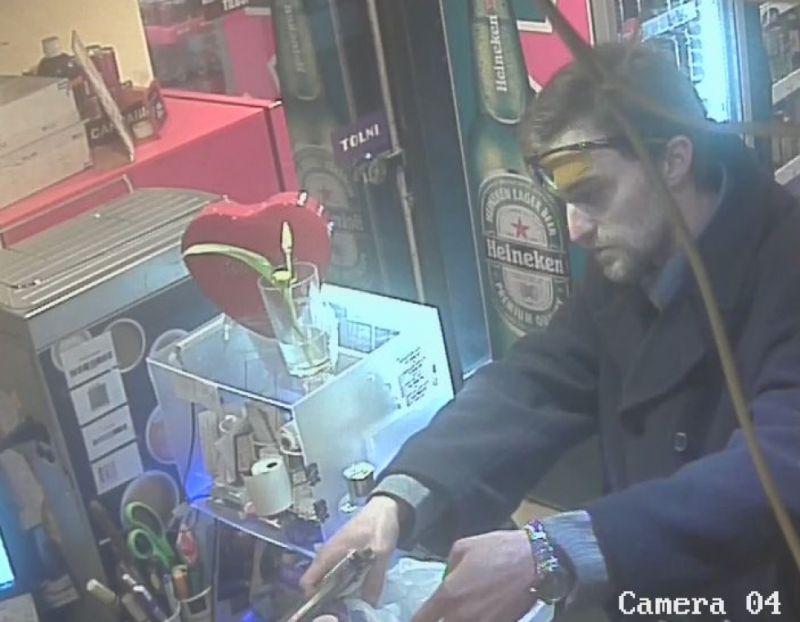 Dohányboltot rabolt ki, keresi a rendőrség – fotó