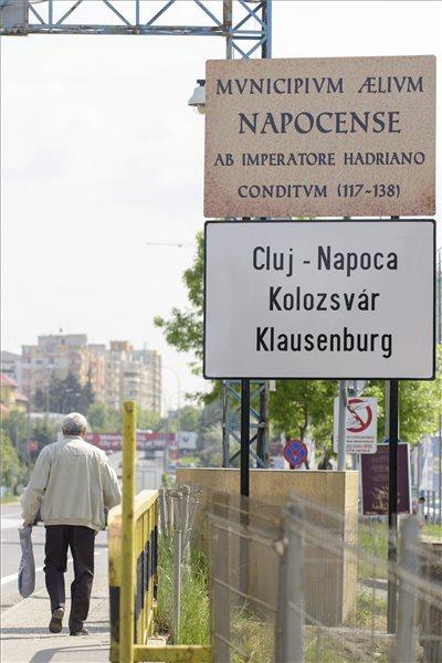 Most már magyarul is lehet olvasni Kolozsváron a város nevét