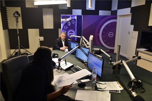 Orbán Viktor Sorosról és Kínáról beszélt a rádióban