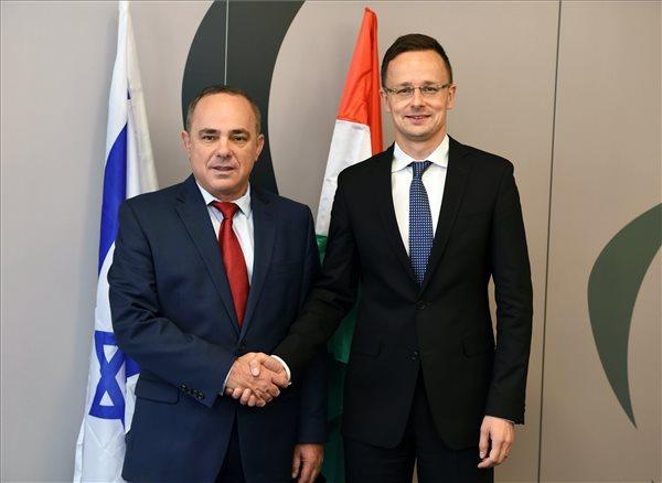 Szijjártó szerint Magyarországon nem tűrik az antiszemitizmust