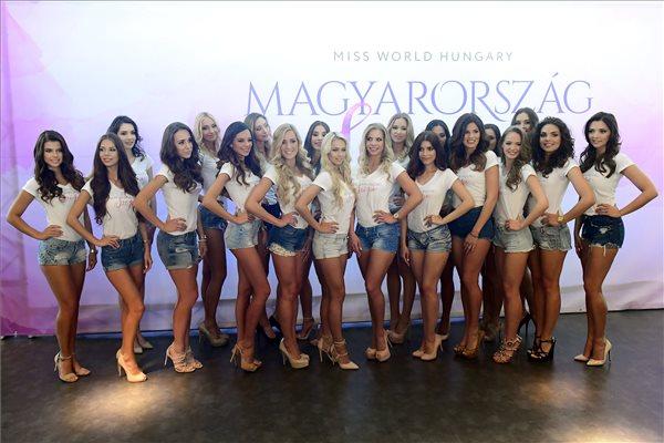 Ők a Miss World Hungary jelöltjei – fotó