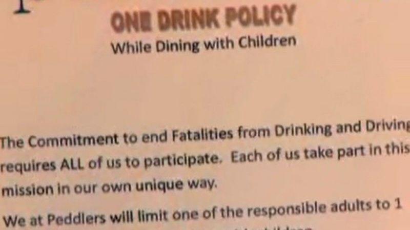 Aki gyerekkel megy ebbe az étterembe, az csak egy sört ihat
