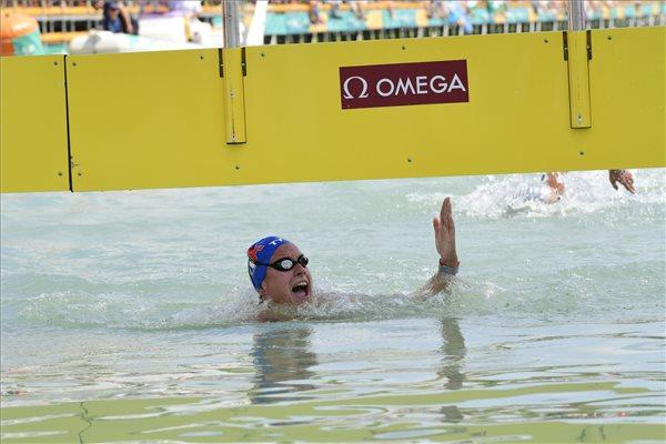 Vizes vb: Aurélie Muller első, Olasz Anna a 8. lett a 10 kilométeres versenyen