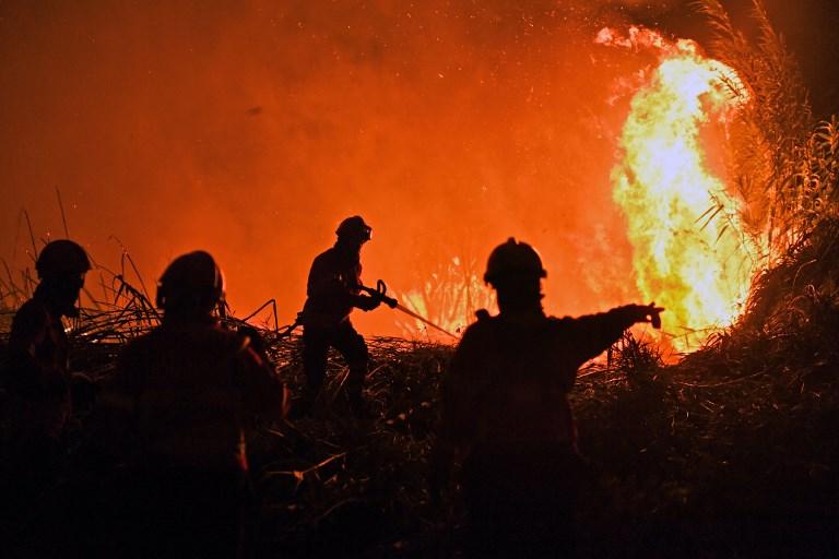 3000 tűzoltó küzd a lángokkal Portugáliában