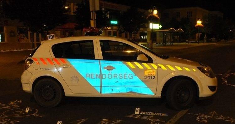 Autós üldözés volt Ózdon, kilőtték a menekülő kocsi kerekét