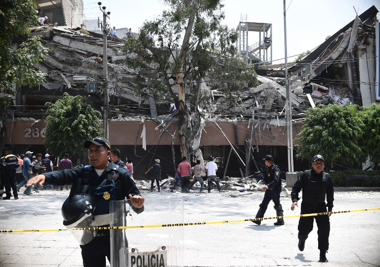 7,1-es erősségű földrengés rázta meg Mexikóvárost