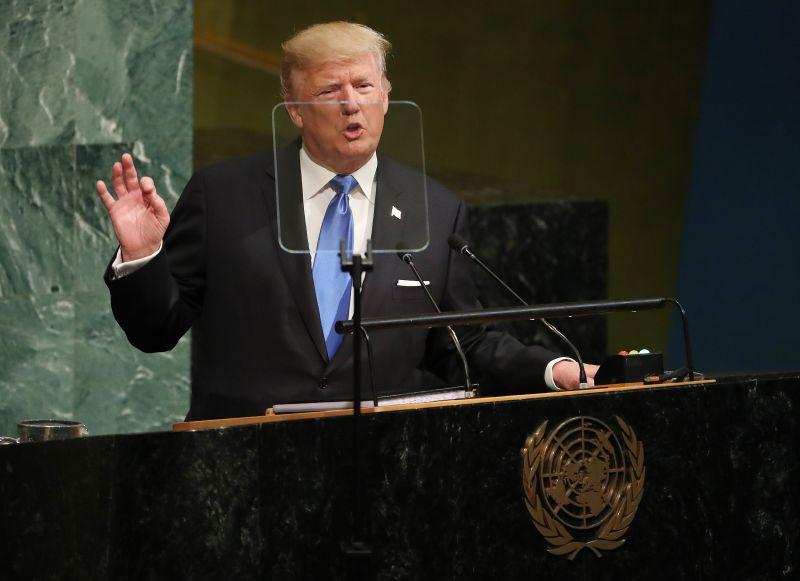 Trump Észak-Korea elpusztításáról beszélt az ENSZ-ben