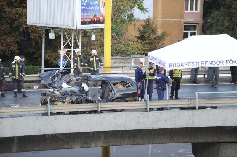 BAH-csomóponti tragédia: elaludt a volánnál a külföldi sofőr, aki hivatalosan nem is volt az országban