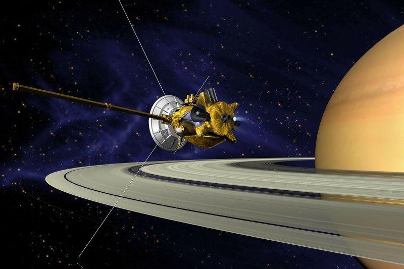 Húszévi hűséges szolgálat után pénteken hullócsillag lesz a Cassiniből