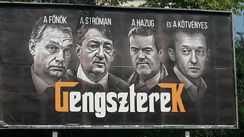 """Beszólt Vona Orbánnak: a plakáttépkedés """"a gyengeség jele"""""""