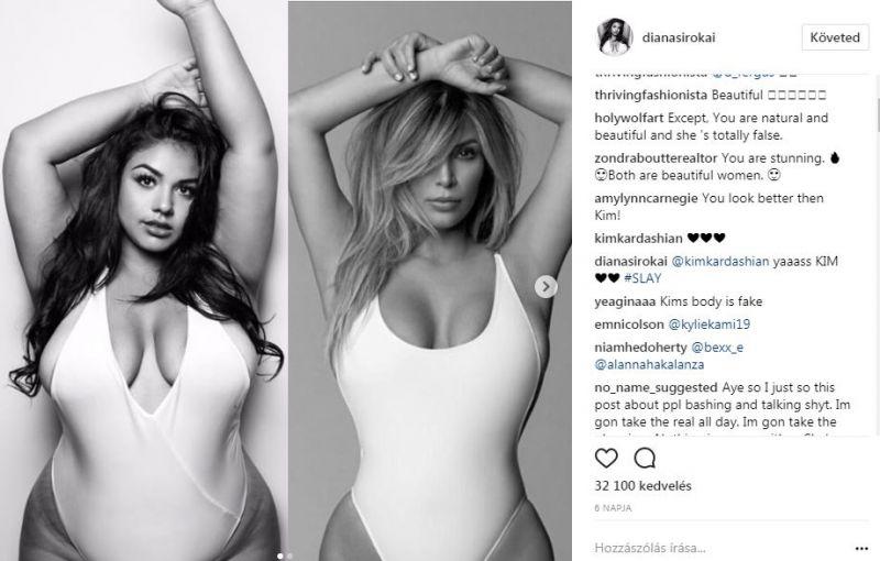 A magyar ducimodell kardashianos fotójára lecsapott a nemzetközi sajtó