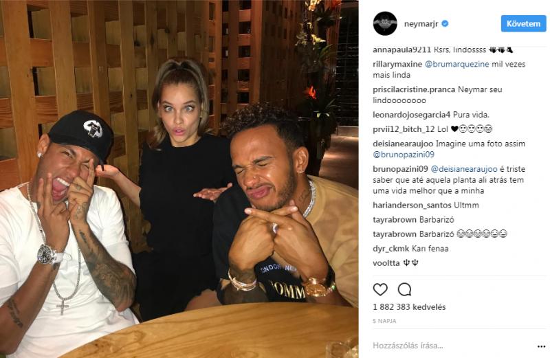 Így bűnhődött Neymar, mert randizott Palvin Barbival