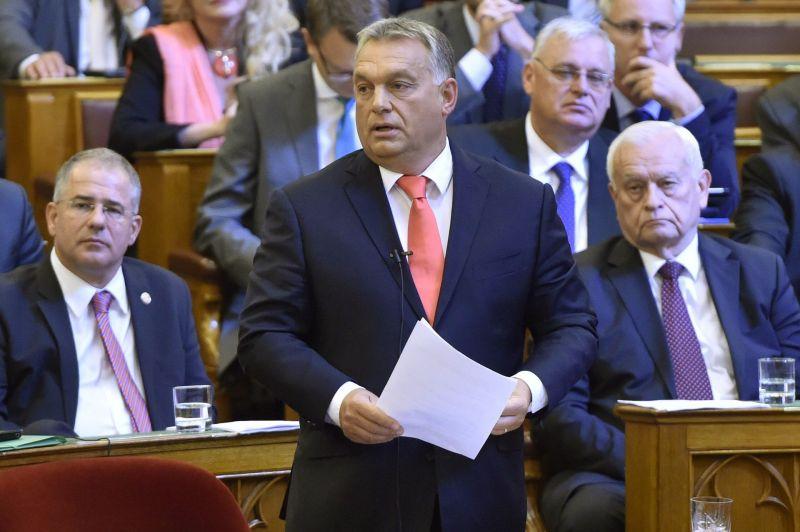 Orbán köszöntötte a zsidó újévet