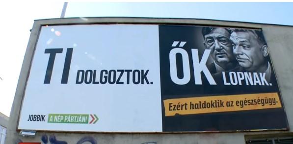 A Jobbik megtalálta a módját, hogy játssza ki a plakáttörvényt