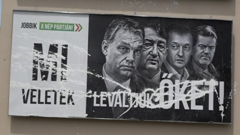 Új frontot nyit a Jobbik a plakátháborúban