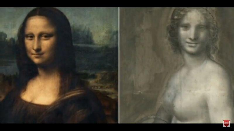 Megtalálták a pucér Mona Lisát