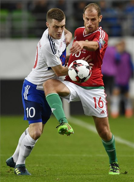Megszületett az első magyar gól: Magyarország – Feröer: 1-0