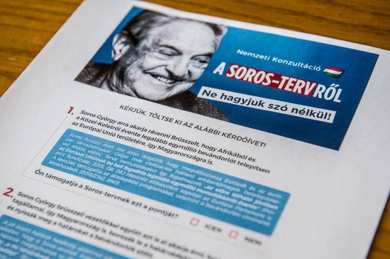 Fidesz: már dolgoznak a Soros-jelentésen Brüsszelben