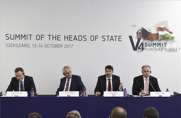 Áder: aggasztó a Nyugat-Balkán helyzete