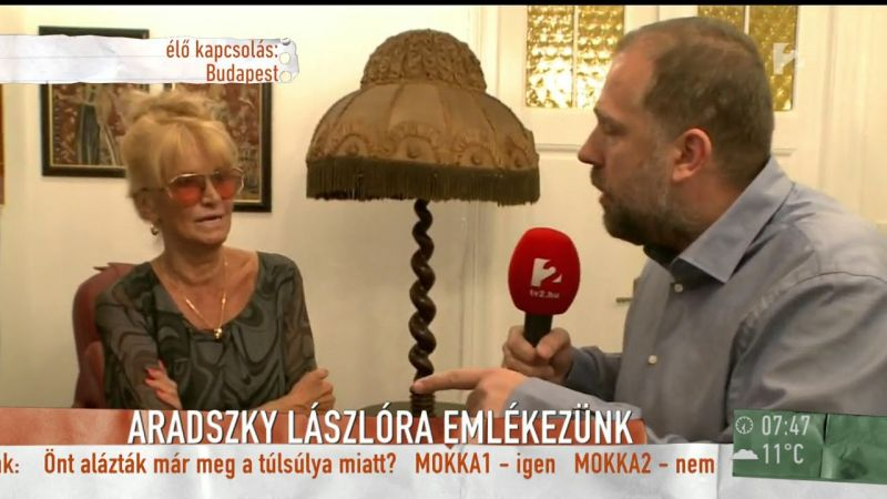 Napok óta nem alszik Aradszky özvegye