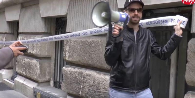 Az esőre hivatkozva lemondták Gulyás Mártonék a holnapra tervezett tüntetést