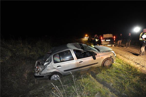 Halálos baleset történt Pest megyében