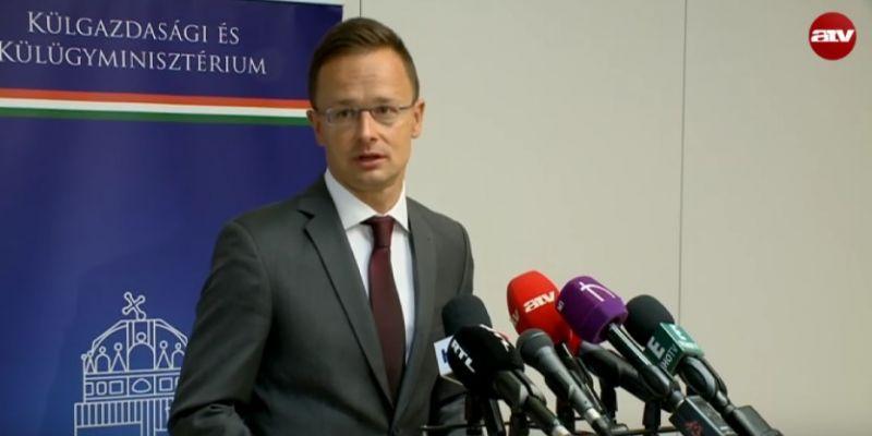 Szijjártó ismét üzent Ukrajnának: tartsák féken a nacionalistákat!