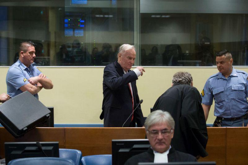 Életfogytigalanra ítélték Ratko Mladićot Hágában