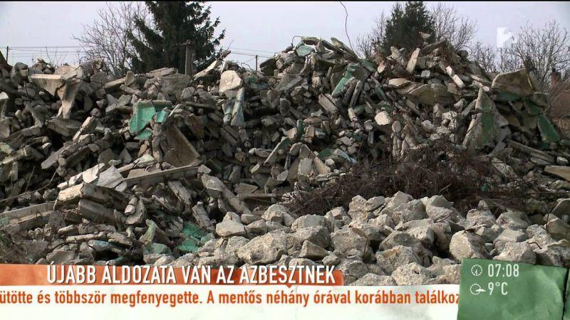 Az ipari azbeszt ölte meg őket, mégsem jár a családtagoknak kártérítés