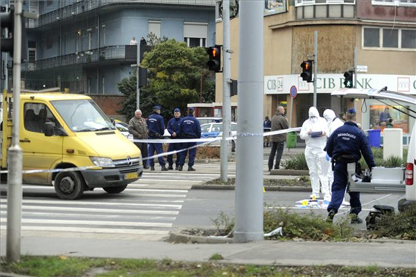 Menekülés közben ütöttek el egy bankrablót Budapesten