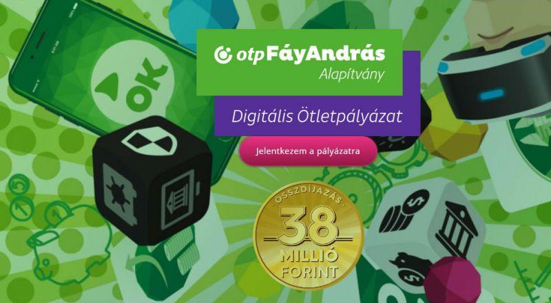 15 millió forintot lehet nyerni az OTP digitális ötletpályázatán