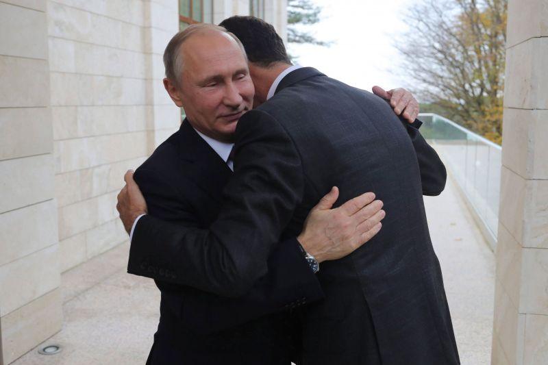 Putyin mindenkivel tárgyal a szíriai rendezésről