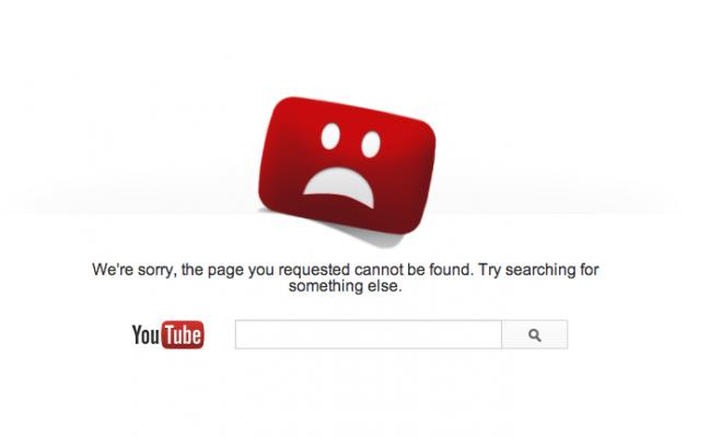 Nagytakarítás volt a YouTube-on, ötvenezer videó esett áldozatul
