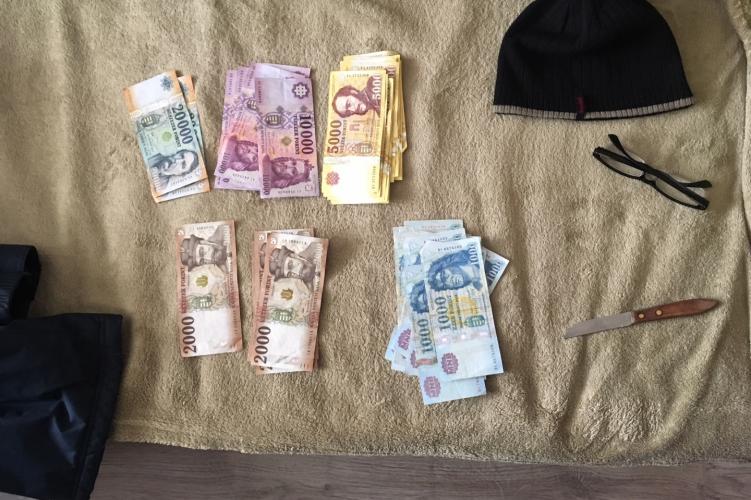 Egy boltot kirabolt, a másiknál befürdött – elfogták az óbudai rablót