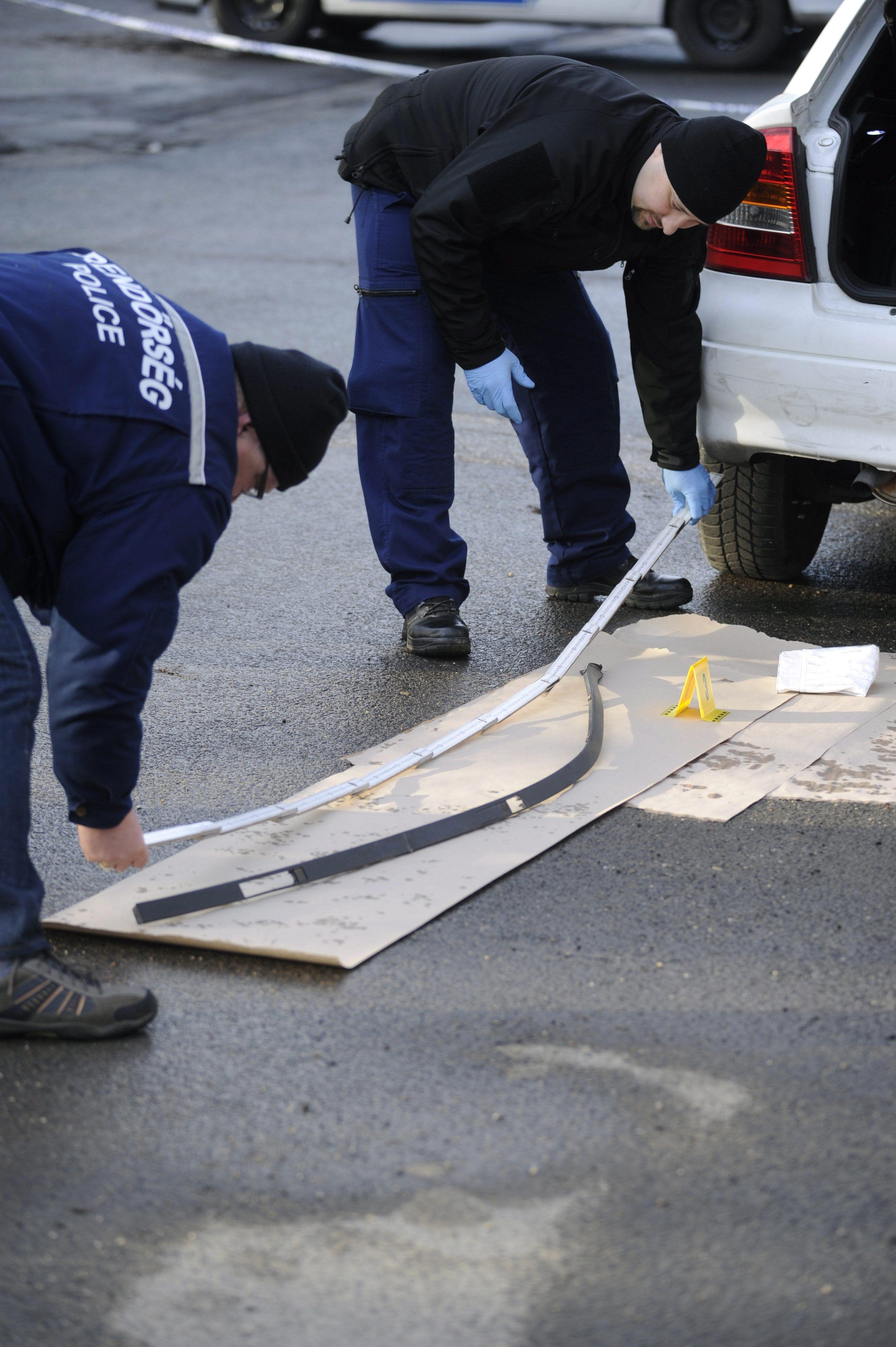 Rálőttek egy autóra Csepelen, a rendőrség keresi a tettest
