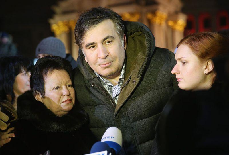 Nem volt hajlandó vallani a volt odesszai kormányzó, Miheil Szaakasvili