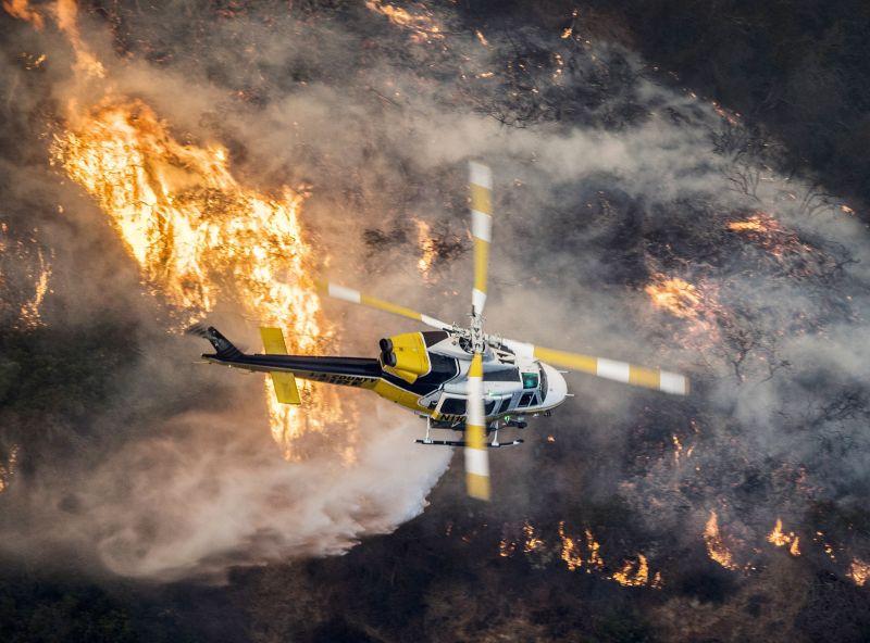 Kaliforniai erdőtűz: elszabadult a pokol Kaliforniában