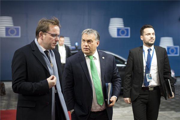 Orbán: azon múlik a terrormentes élet, hogy Magyarország meg tudja-e védeni Európa szárazföldi határait