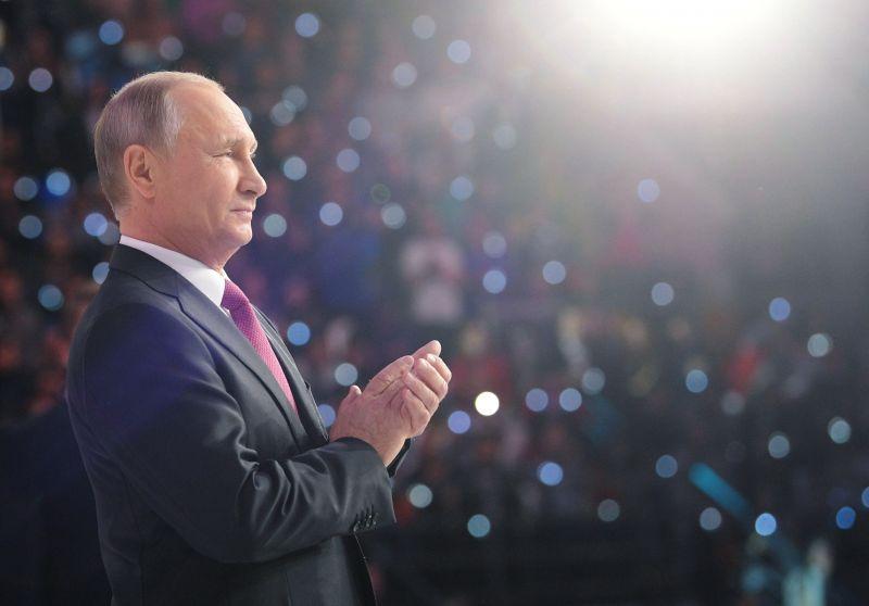 Putyin bejelentette, hogy szétverték az Iszlám Államot