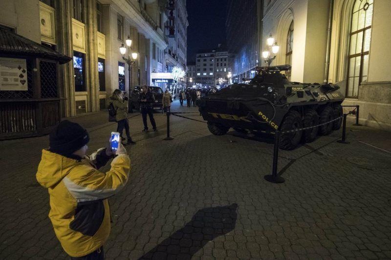 Így védi meg a karácsonyi vásárt Budapesten a TEK