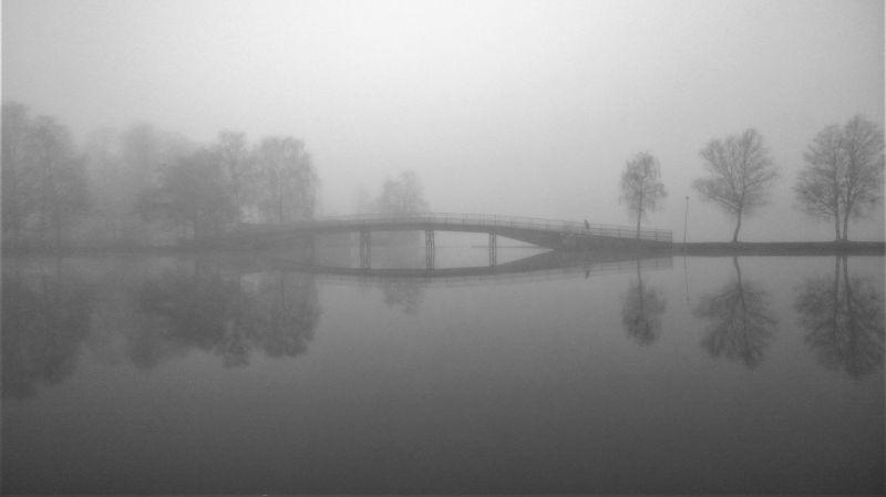 Köd és eső miatt adtak ki figyelmeztetést péntekre