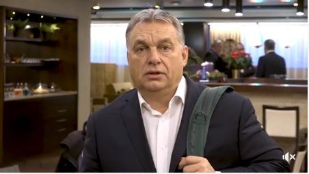 """""""Harcolni fogunk"""" – Orbán Viktor elindult Brüsszelbe a kérdőívekkel"""
