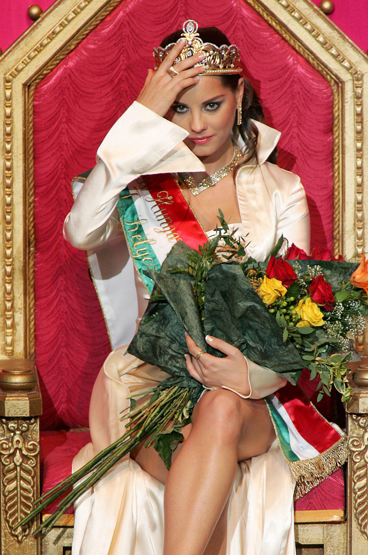 Édesanyja karjaiban halt meg a 2007-es Miss Hungary