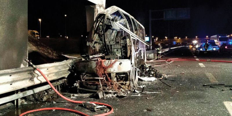"""Csiszár Jenő: """"A veronai buszbaleset ártatlan áldozatait az egész magyar nemzet mélyen gyászolja"""""""