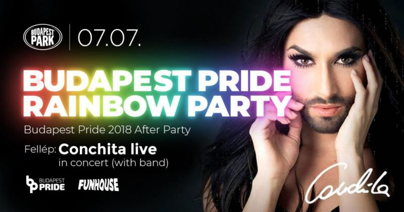 Conchita Wurst lép fel az idei Budapest Pride Fesztivál záróbuliján