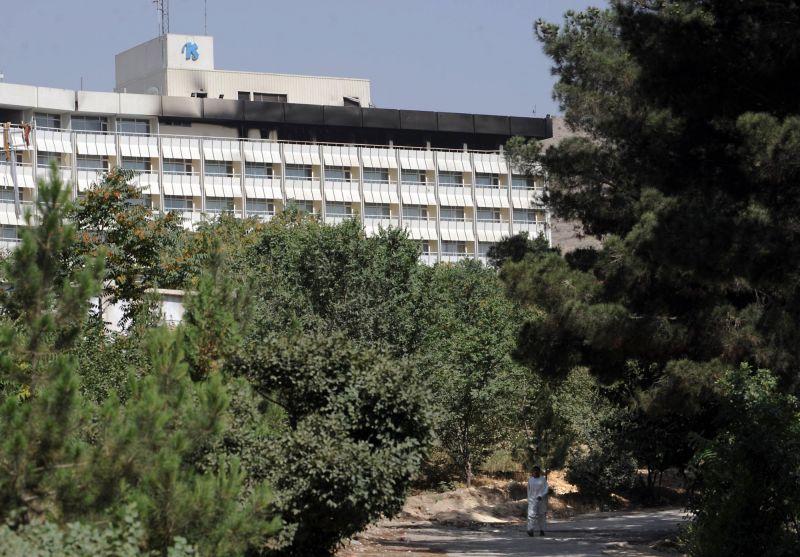 Fegyveresek támadták meg a kabuli luxushotelt