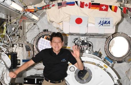 Döbbenetesen megnőtt az első japán asztronauta az űrben