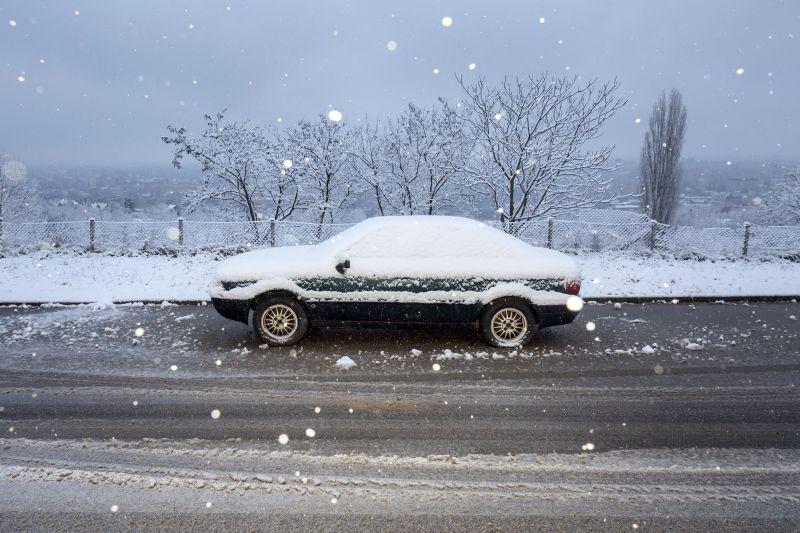 Budapesten is szépen esett a hó – fotók