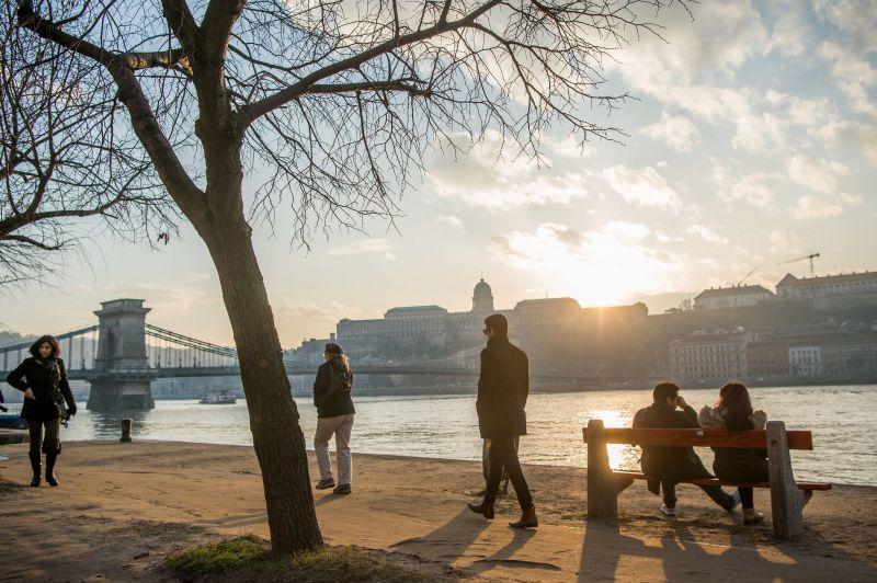 Januári tavasz: megdőltek a melegrekordok szombaton